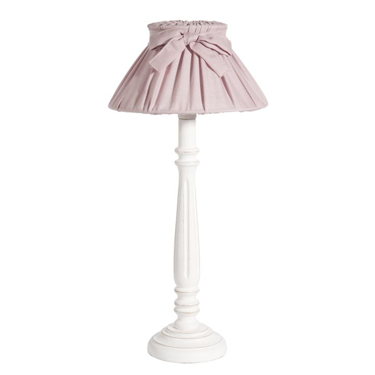 Lampe de chevet rose cleves maison du monde decoration - Table de chevet romantique ...