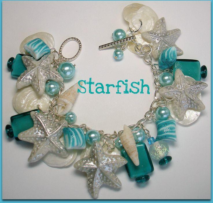 sea jewlery | Beadazzle Me Polymer Jewelry: Under the Sea: Starfish, Shell ...
