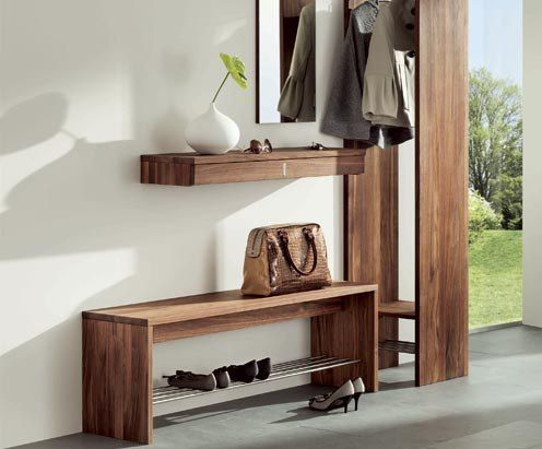 Modern entry way contemporary foyer furniture design for Latest furniture designs for hall