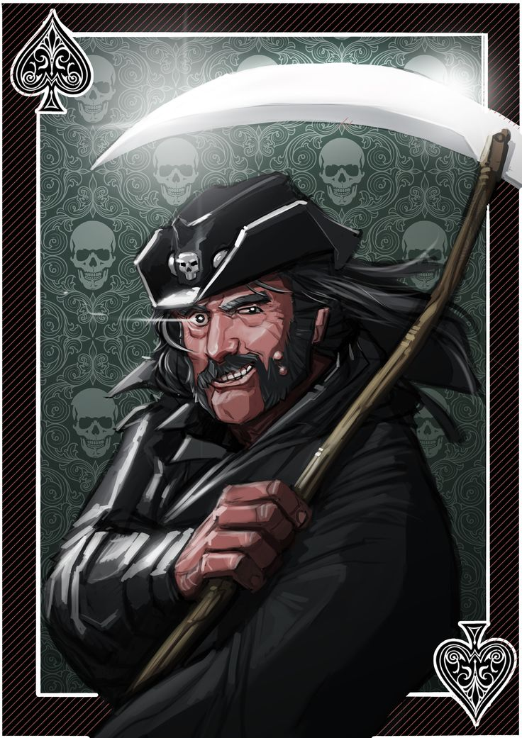 #Digicember 29 - #Ace  If being sick as fuck wasn't enough, today we mourn a legend. Rest in peace #Lemmy   #Motorhead
