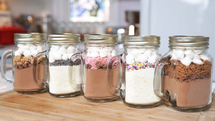 What a fantastic gift to give someone a hot chocolate recipe in a jar , i love this idea it is such fun and great to make as well and...