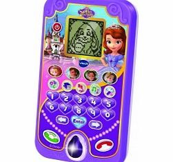 VTECH Pre-School Sofia the First Enchanted Smart Talk learn and play with Princess Sofia! The Enchanted Smartphone is an educational role play toy that your child will love With voice activated play your little one can talk to animal friends and lea http://www.comparestoreprices.co.uk/educational-toys/vtech-pre-school-sofia-the-first-enchanted-smart.asp
