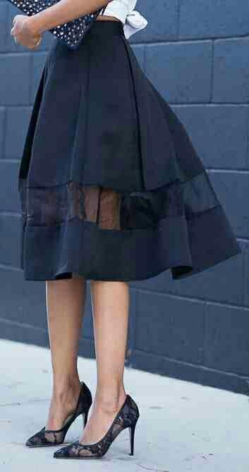 Love this navy linen