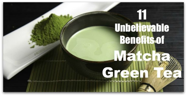 Drinking a single cup of Matcha is like drinking ten cups of green tea. 11 Unbelievable Benefits of Matcha Green Tea