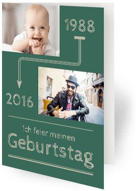 Geburtstagskarten Selbst Gestalten U2013 Lustig U0026 Kreativ! 40er Geburtstag ...