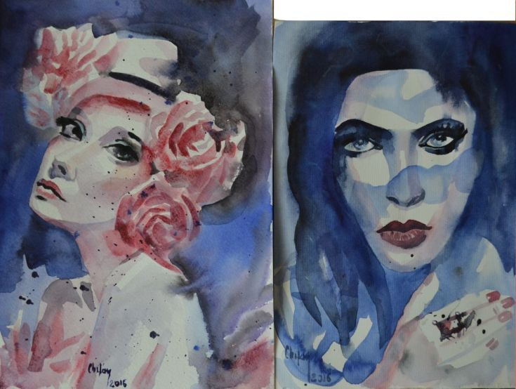 Buy TWO WATERCOLORS PAINTINGS, Watercolor by Chifan Cătălin Alexandru on Artfinder. Discover thousands of other original paintings, prints, sculptures and photography from independent artists.