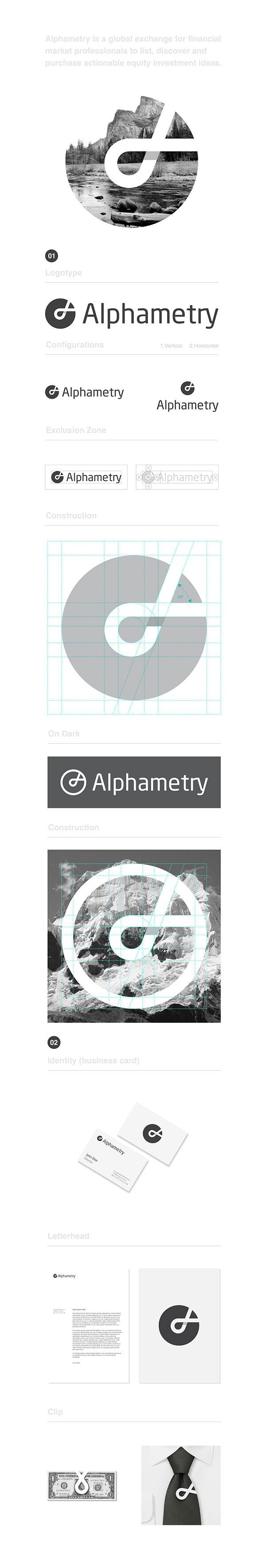 Alphametry Identity on Behance
