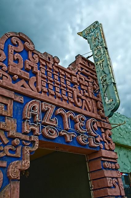 The Aztec Hotel. Monrovia, CA.