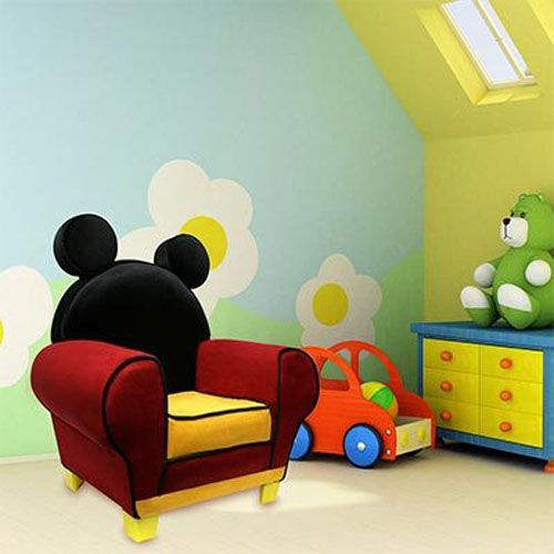 mickey mouse kids bedroom design 4