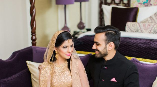 Meet 27-year-olds Huda and Maneet. They got married earlier this year in Dubai. | This Indian-Pakistani Couple Fought All Odds And Got Married In The A Gorgeous Beach Wedding