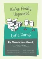 Unpacked Housewarming Party Invitation