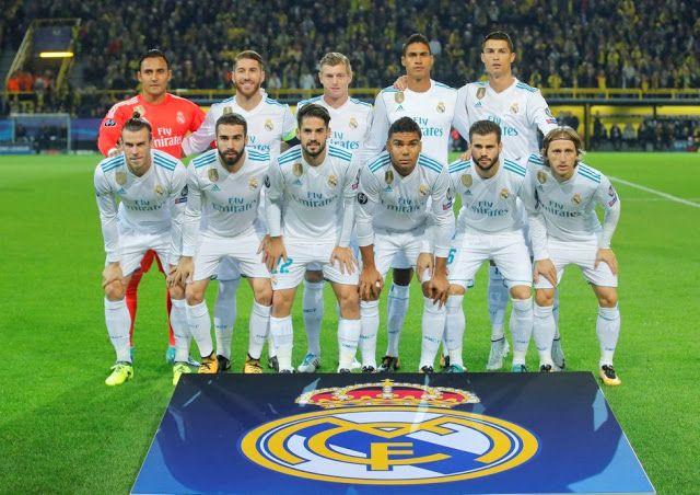 EQUIPOS DE FÚTBOL: REAL MADRID contra Borussia Dortmund 26/09/2017 Liga de Campeones