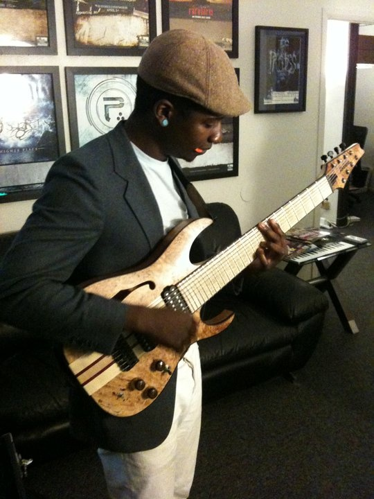 This guy will blow your mind with his 8-string guitar (Tosin Abasi)