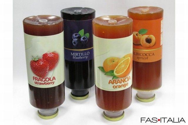 foto Dispenser per marmellata: Refill di marmellata ai Frutti di Bosco ...