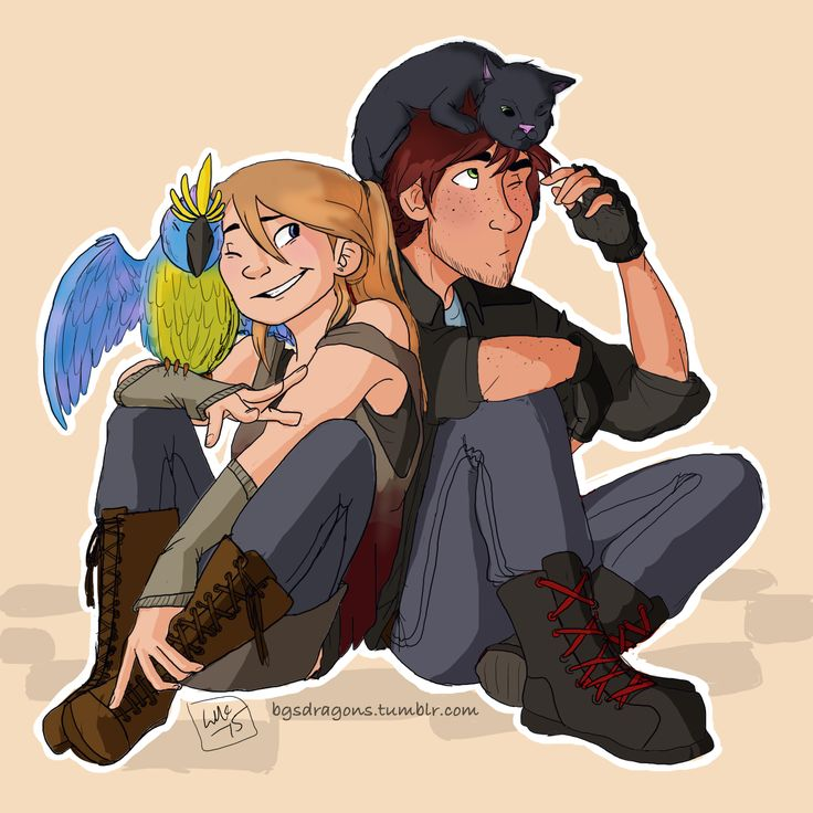 Hehe (Modern Hiccstrid - modern Hiccup and Astrid)