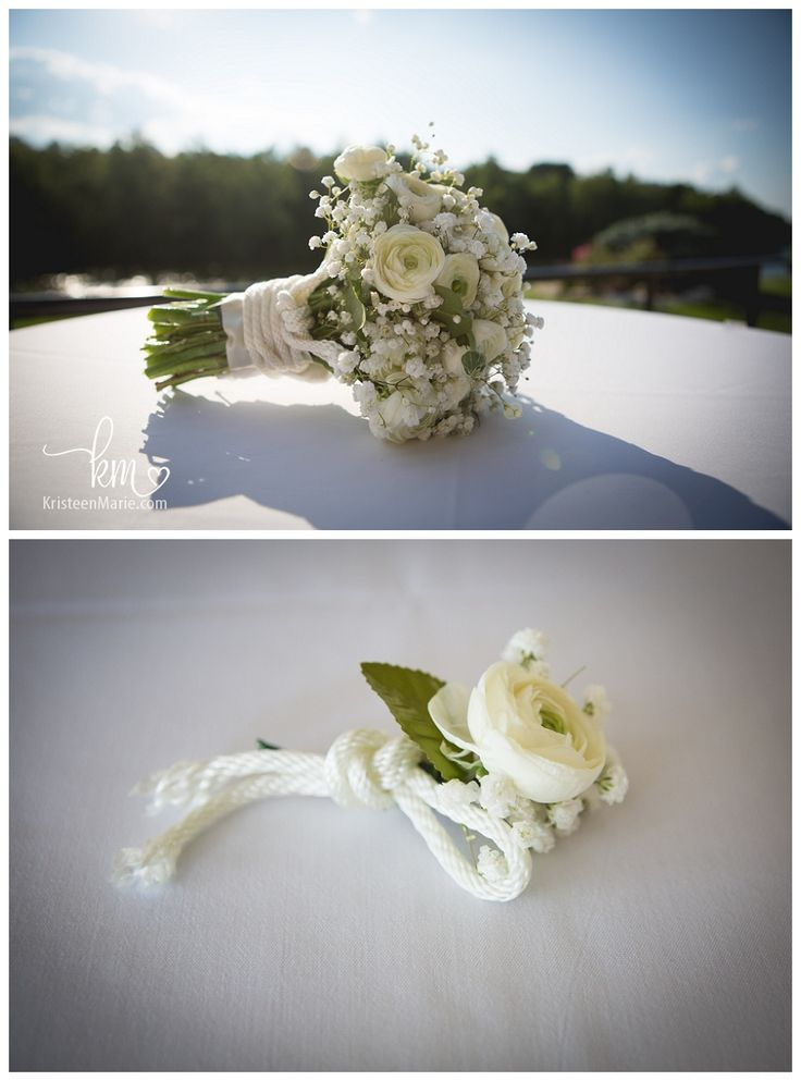 Nautical Themed Wedding Flowers By Jan Hosp Designs