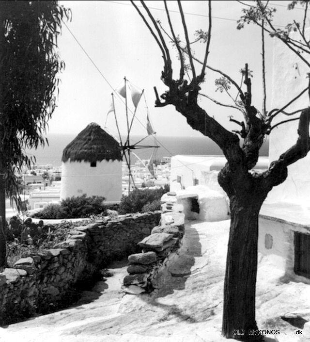 #Mykonos ,1963. Photo D.Koutsoukos