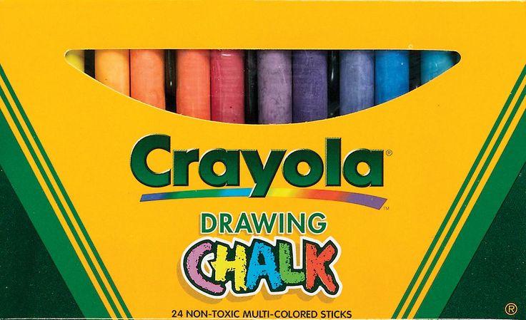 Kunst gekleurde krijt 24 Pkg geassorteerde kleuren 51 0404 | Fruugo
