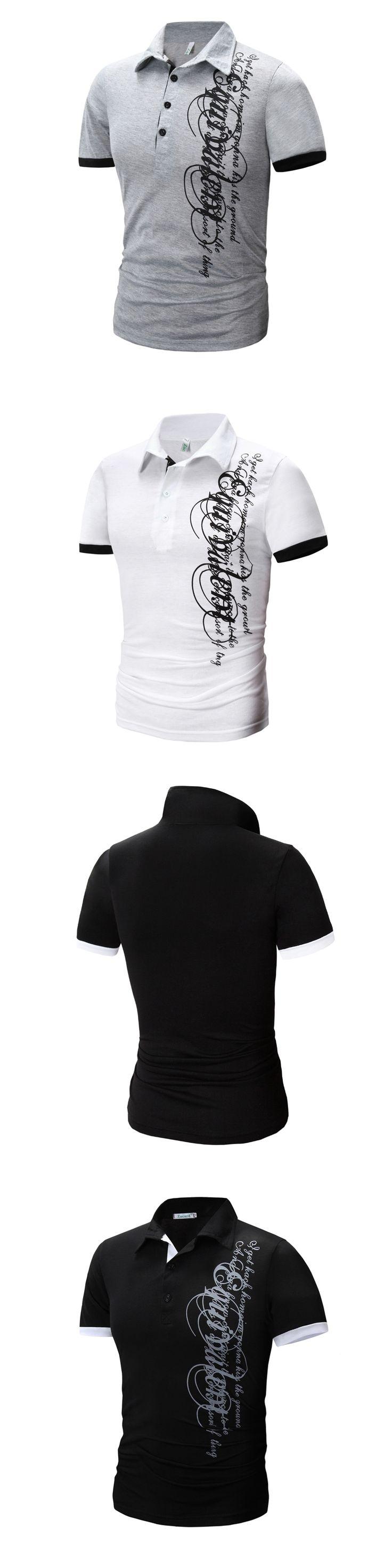 Brand 2017 Mens Polo Shirt Short-Sleeve Solid Poloshirt Men Polo Homme Slim Mens Clothing Camisas Camisa Polo Shirt XXXL