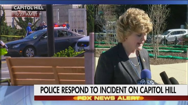 """Breaking News Update: A police car-chase has ended with the female suspect driving into at least one vehicle near Capitol Hill. http://fxn.ws/2oybZWc  """"This incident appears to be criminal in nature with no nexus to terrorism,"""" a spokesperson said."""