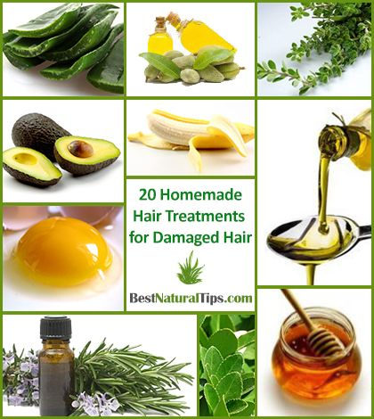 20 Homemade Hair Treatments For Damaged Hair - Best Natural Tips