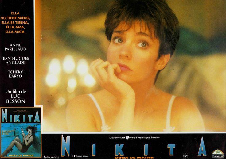 La Femme Nikita (Nikita), Spanish lobby card. 1990 Submitted by videorecord