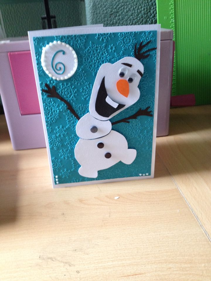 Olaf for Isabel's birthday