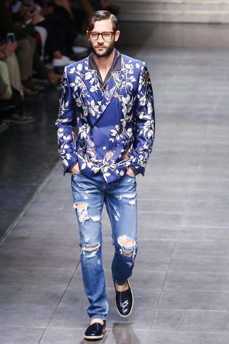 Dolce & Gabbana Menswear Spring Summer 2016 Milan - NOWFASHION
