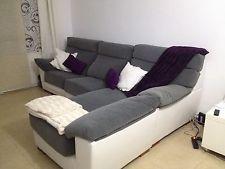 Sofa con chaise loungue