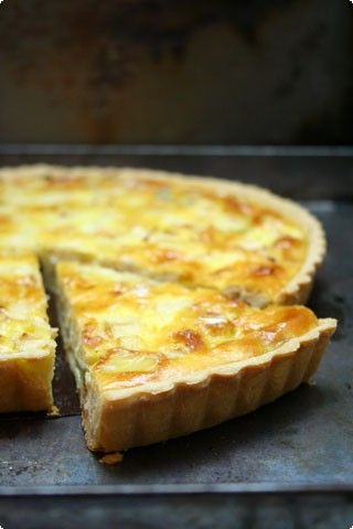 The perfect quiche (normande) -