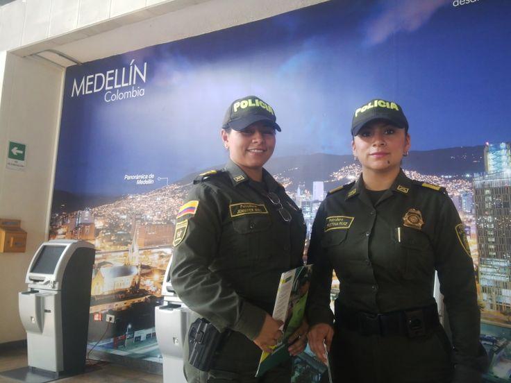 """Comprometidos de corazón con la seguridad del """"Foro Urbano Mundial"""" en Medellín."""