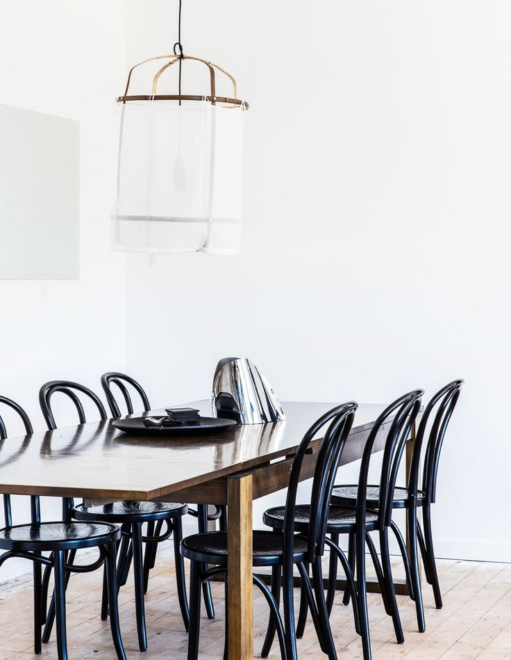 Thonet Classic Bentwood Chairs In The Bright, Light Drenched Dining  Room.Photo U2013 Nikki