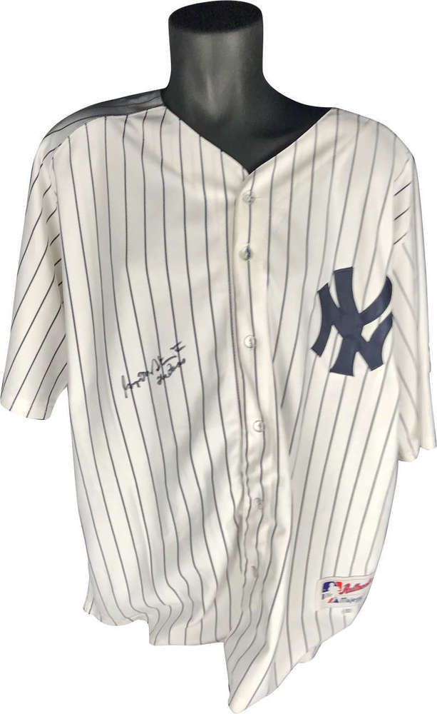 1198e7a49 George Steinbrenner Signed Autographed The Boss Yankees Jersey Beckett BAS  (eBay Link)