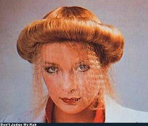 UFO? 奇抜な髪型 変なヘアスタイル