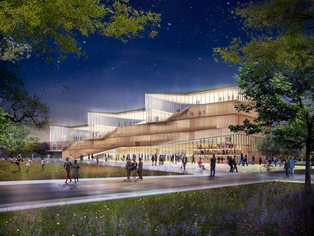 Weiss/Manfredi: News - WEISS/MANFREDI UNVEILS COMPETITION ENTRY FOR KENT STATE UNIVERSITY COLLEGE OF ARCHITECTURE AND ENVIRONMENTAL DESIGN