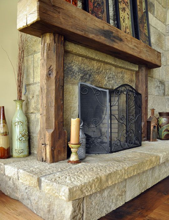 barn wood fireplace mantels | barn beam fireplace mantels our reclaimed rustic fireplace mantels ...