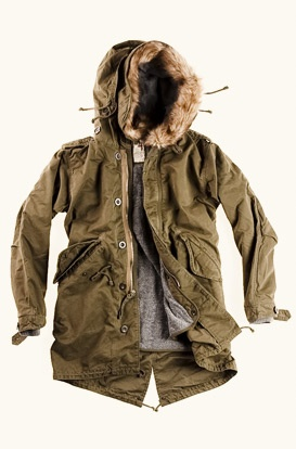 awesome Relwen military parka