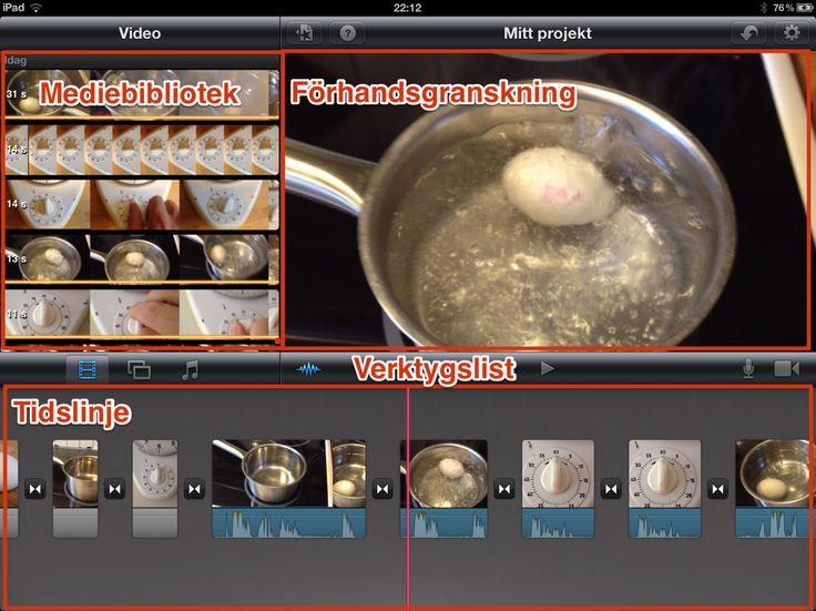 iMovie - Enkelt att skapa film