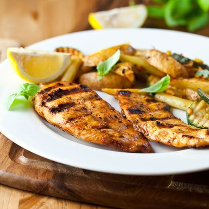 Too much salt is bad for us, although we do need to eat a limited amount of sodium to stay healthy. The following recipe for a low salt chicken marinade is suitable for everyone, especially those watching their salt intake. The marinade is made with garlic, vinegar, basil, olive oil, and honey for a sweet and aromatic finish. There is no salt in the ingredients list but you will not miss it at all because the flavor is great!