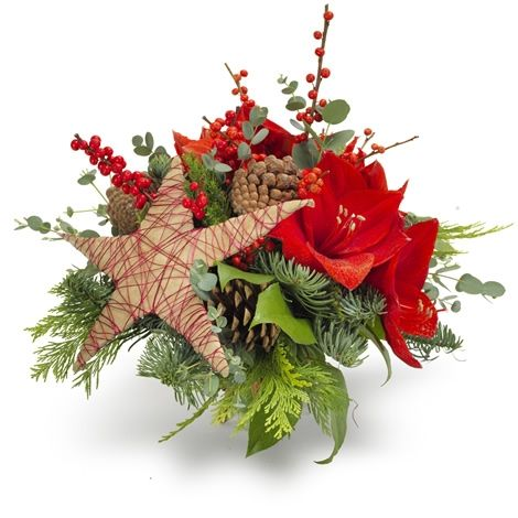 God Jul - Forus - Maren's Blomster