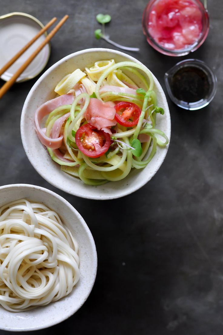 Japanese-Style Cold Summer Noodles — saltnpepperhere