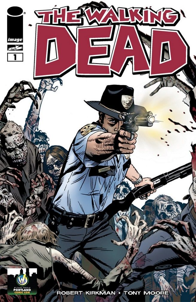 The Walking Dead Limited Edition Exclusive Variant Cover Wizard World Comic Con 2015