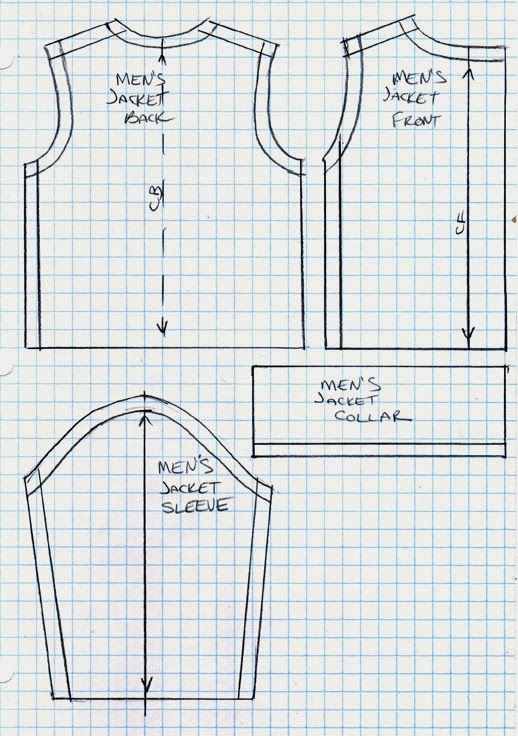 17 Best images about Ken Clothes Patterns Printable & Free ...