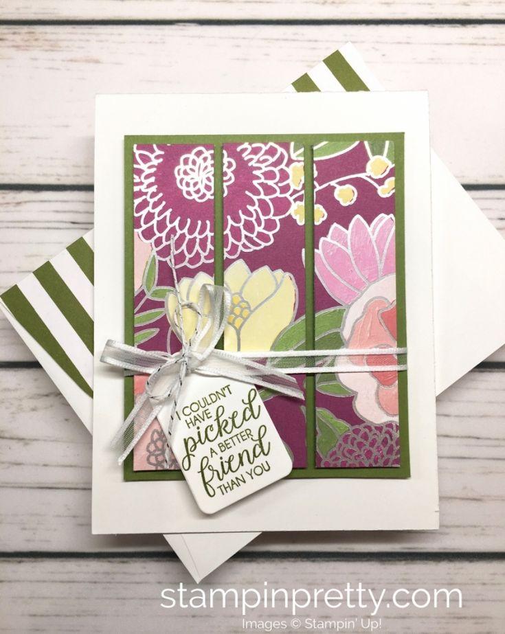 Friendship Card with a Sneak Peek of Sweet Soiree