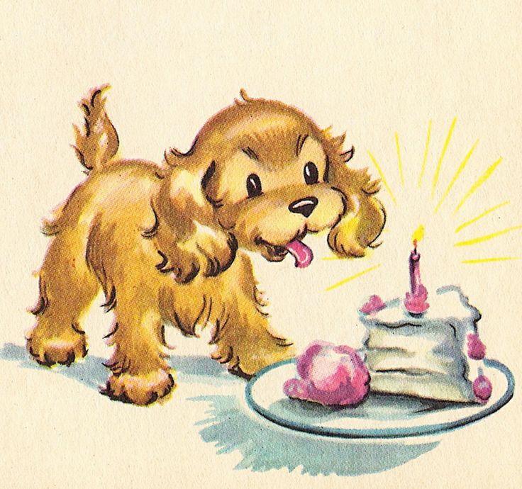 Надписями, открытки на рождение собаки