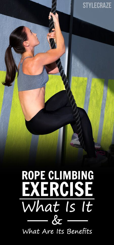 So, have you tried rope climbing at your local gym? Well, if you haven't you might want to consider it.