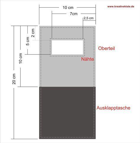 Stoff-/ Filz-Handyhalterung für die Steckdose