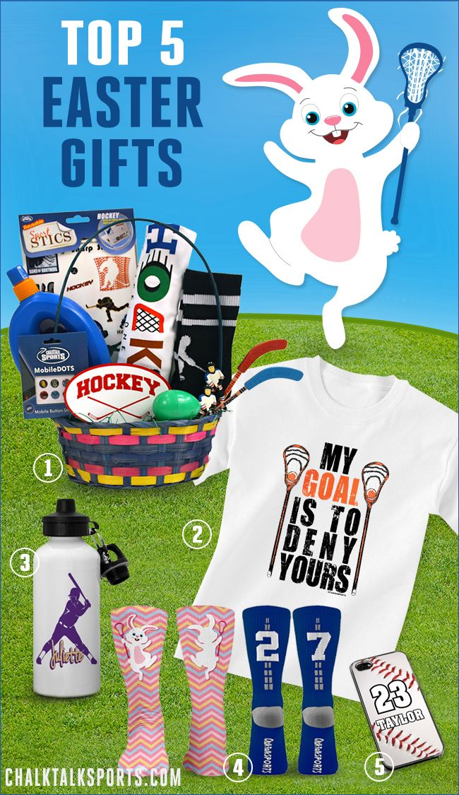 81 best sports easter baskets images on pinterest athlete here are the top 5 easter gifts this year exclusively from chalktalksports negle Images