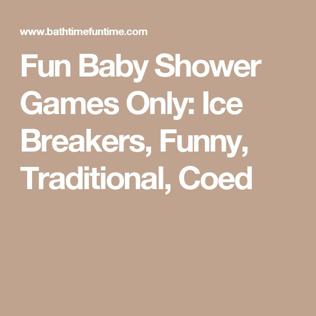 Funny ice breakers for dating