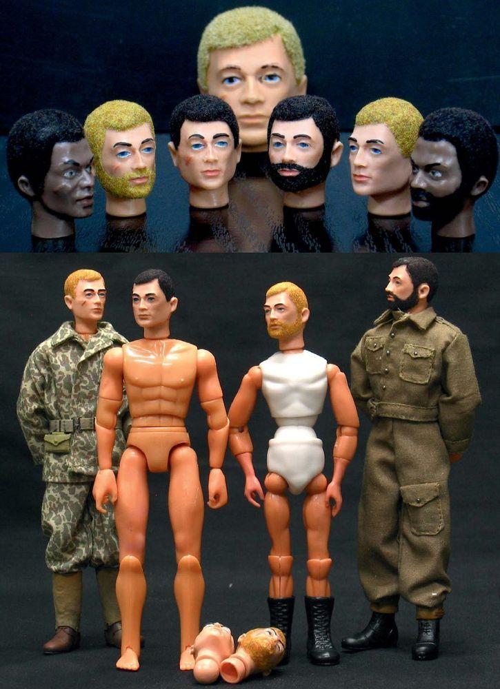 CABEZA CUSTOM FLOCADA PARA MANIQUIES MADELMAN 170mm DE AMMODEL TIPO ACTION-MAN  | Juguetes, Figuras de acción, Militar y aventuras | eBay!